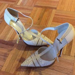 Balenciaga strap stilettos 6 inch heel